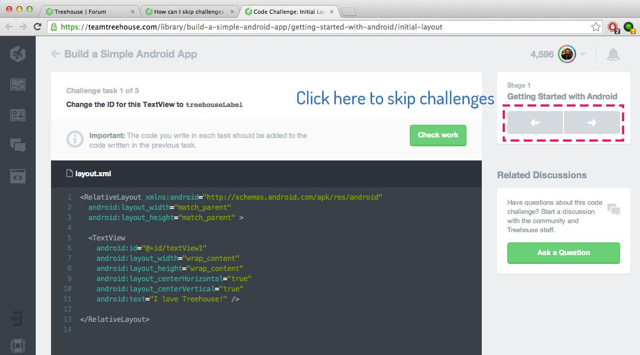 Screenshot de codecademy