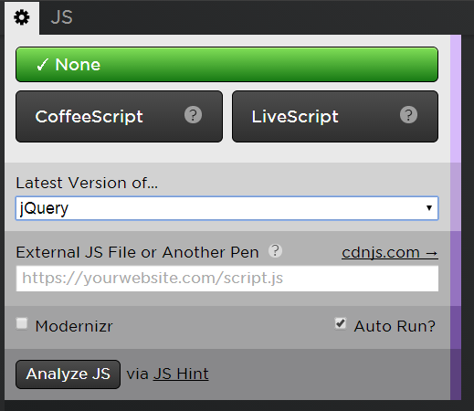 using jquery in codepen | Treehouse Community