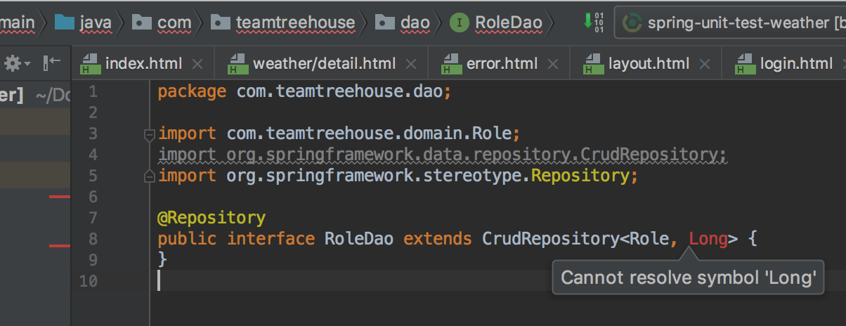 Intellij Syntax Highlightingerrors For Java Not Working Treehouse