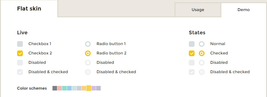 How to apply border to a selected checkbox and radio button