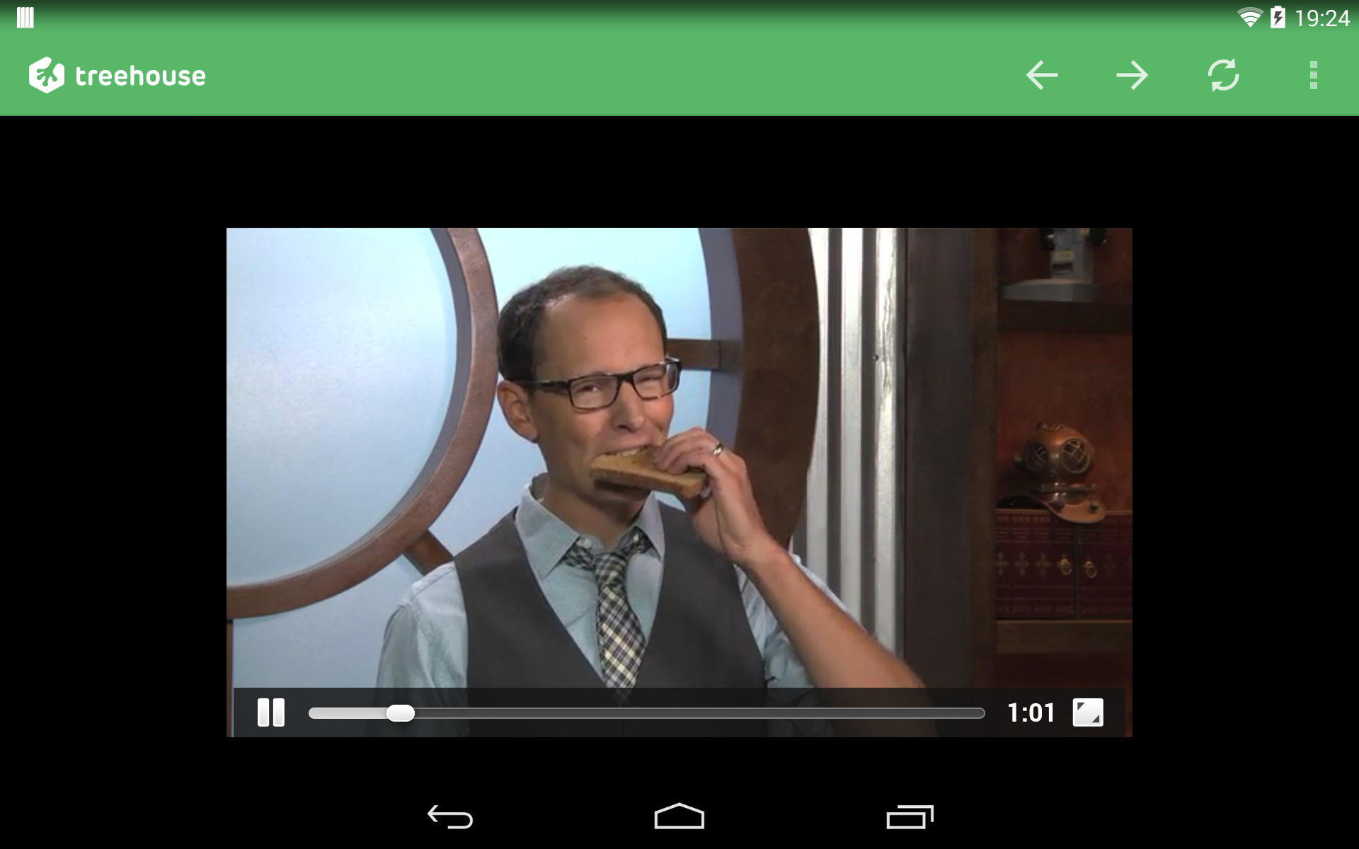 HTML5 video won't go fullscreen in WebView  | Treehouse Community
