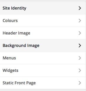 Screenshot of WordPress edit mode on landing page