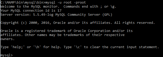 Access MySQL, MAMP | Treehouse Community
