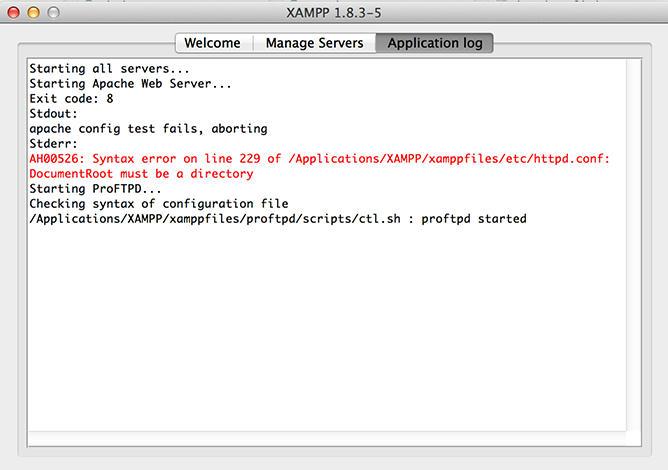 Apache do not start on XAMPP on Mac - Help me | Treehouse