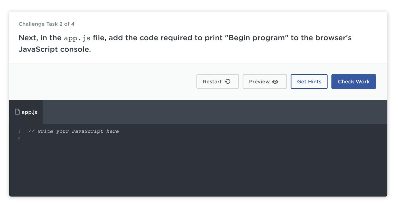 code challenge example